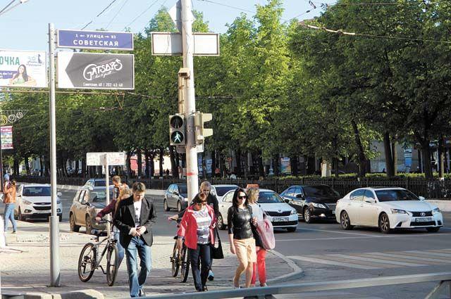 К круглой дате в краевой столице должны завершить реконструкцию Комсомольского проспекта.
