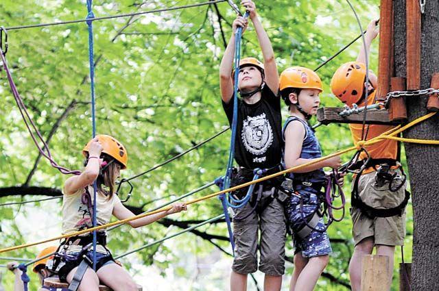 Массовые виды активности разрешат только на четвёртый день пребывания в лагере.