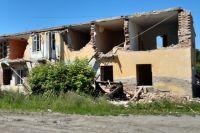 Из 7 тыс. домов, которые нужно снести, ликвидировали только 40.