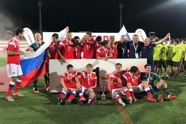 Сборная России - главный фаворит чемпионата мира по футболу 7Х7.