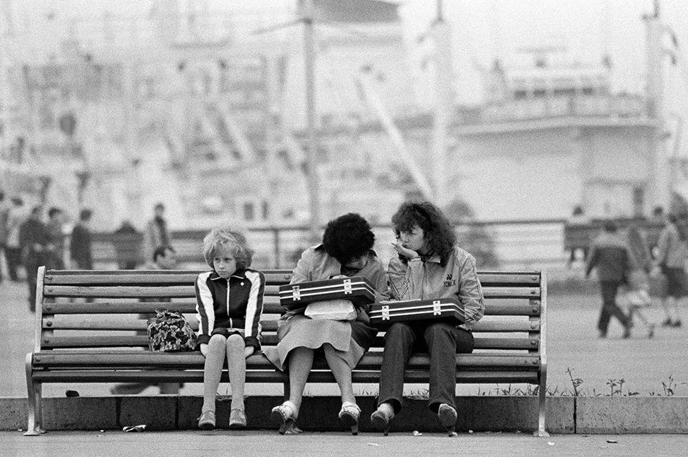 В морском порту Владивостока. 1982 год.
