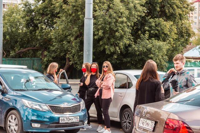 В День молодежи тюменцы поучаствовали в автоквесте