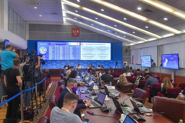 Информационный центр ЦИК РФ, 2 июля 2020 года.