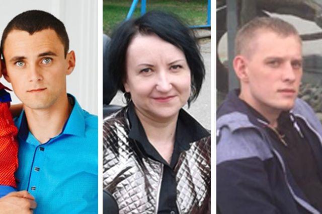 Влад Чикунов, Татьяна Рубцова и Алексей Сеитов.