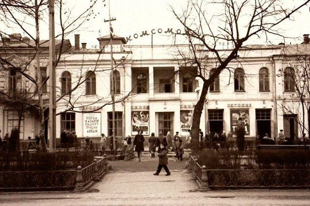 Так выглядел кинотеатр в советское время