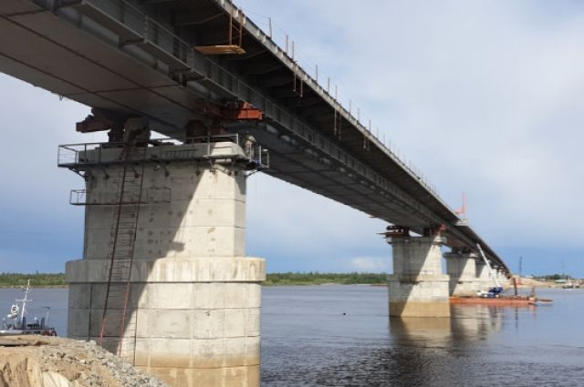 Ямальцы выбрали название для моста, который строят через реку Пур