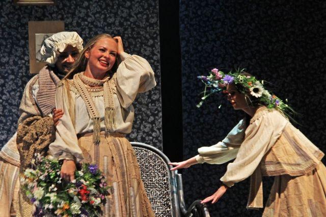 Ульяновский зритель запомнил яркую и трепетную одновременно игру актрисы Прыскиной в