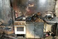 В Бугуруслане на пожаре в арендованном доме погиб мужчина.