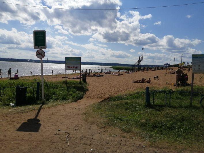 Ижевчане вновь могут провести жаркие выходные на водоемах