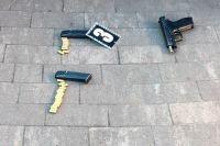 В Киеве полицейские задержали двух мужчин, устроивших драку со стрельбой