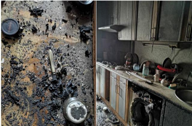 В сгоревшей квартире нашли тело 88-летнего хозяина.