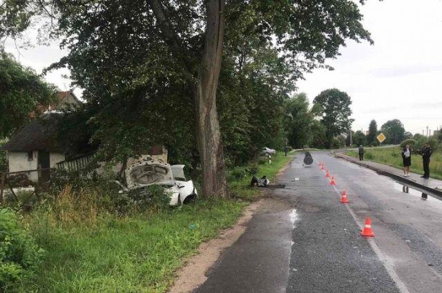 В Полесске в ДТП погиб водитель