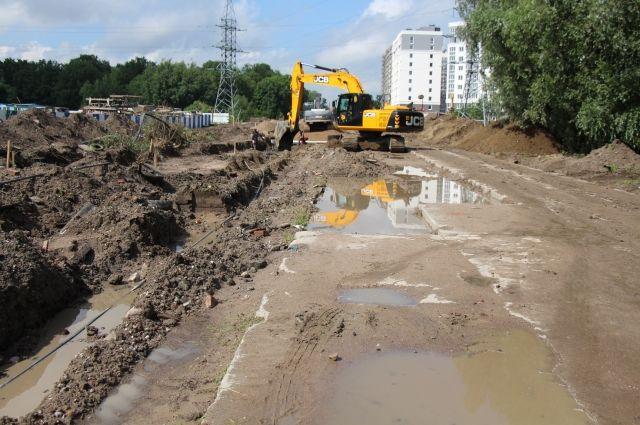Для строительства ливнёвки будут по полосам перекрывать Московский проспект