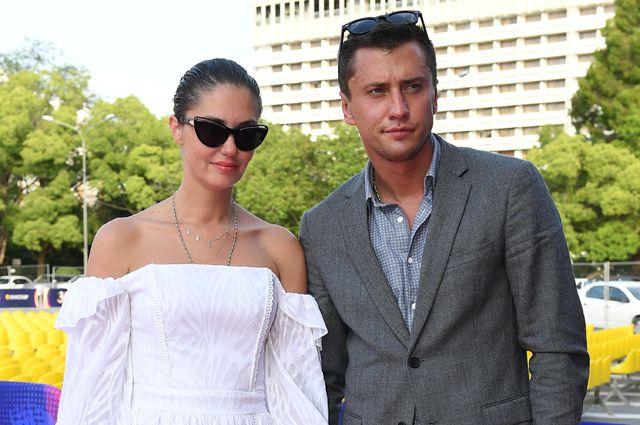 Павел Прилучный со своей экс-супругой Агатой Муцениеце.
