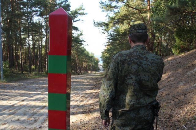 В Нестерове задержали мужчину, пытавшегося пересечь границу с Польшей