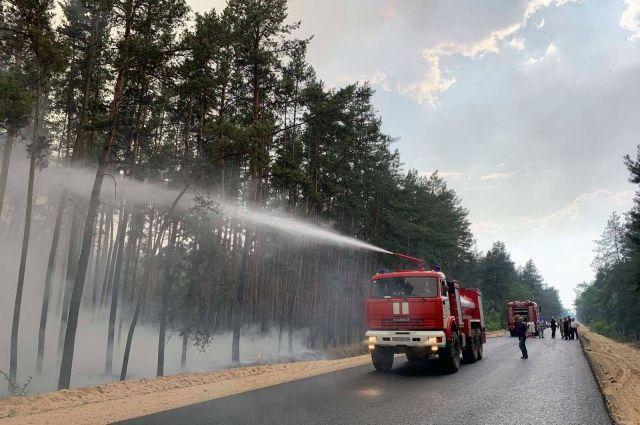 Пожар в Луганской области: один человек погиб, девятеро госпитализированы