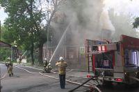 Новостроек на ул. Малой Ямской и Шевченко не планируется, но старые дома горят и горят.