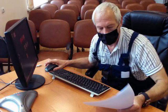Победитель первенства Виктор Наврось.