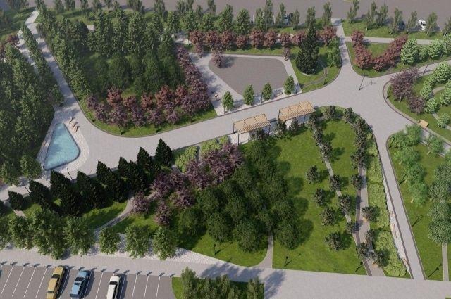 Проект участка на улице Ускова