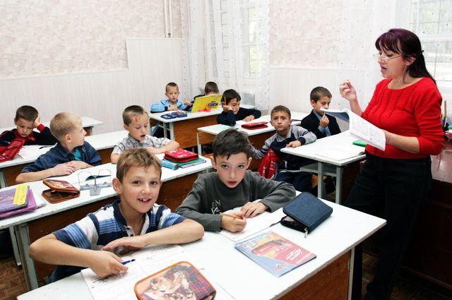 В такой обычный класс мечтают вернуться многие ученики.
