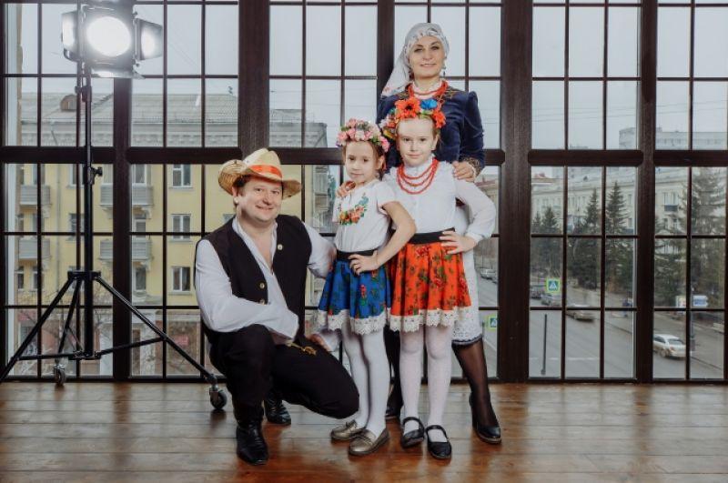 Польская семья Чубаровых.