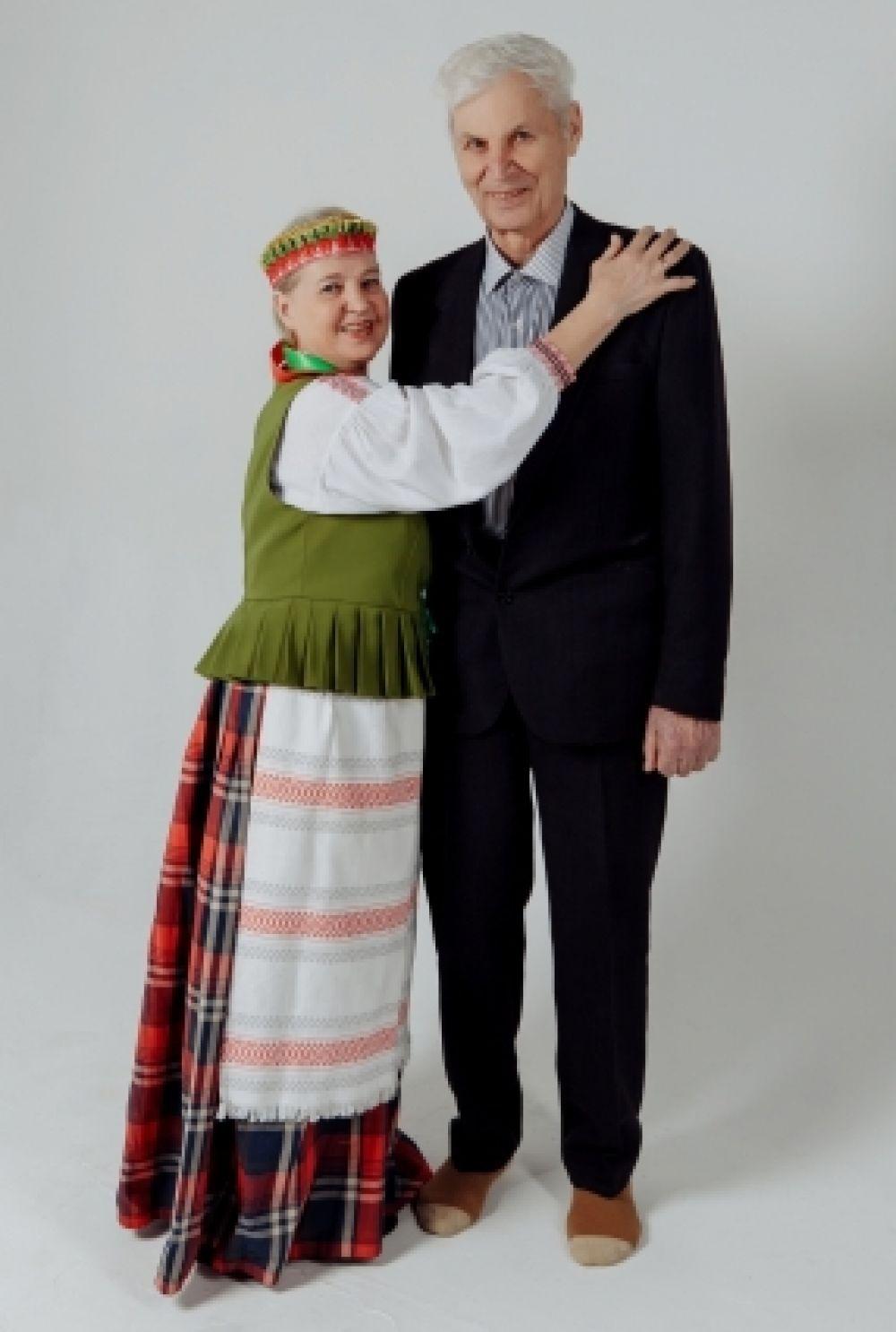 Литовская чета Греблюнас.