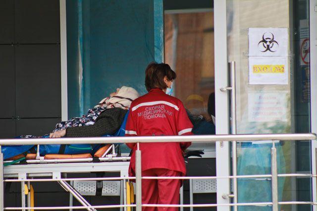В Оренбуржье 742 ковид-пациента находятся в больницах.
