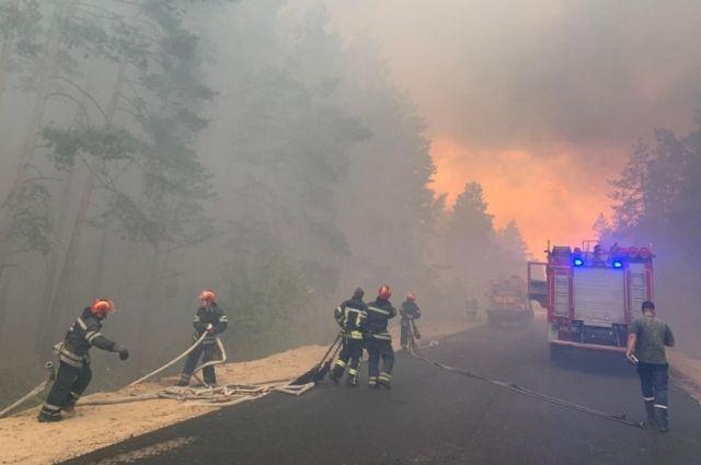 Нацполиция: большинство погибших от пожаров в Луганской области задохнулись