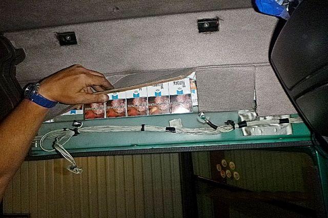В Советске таможенники нашли около 1000 пачек сигарет в кабине грузовика