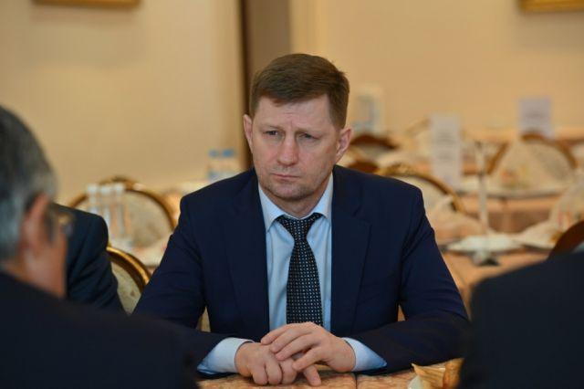 Врио губернатора Хабаровского края назначит президент РФ