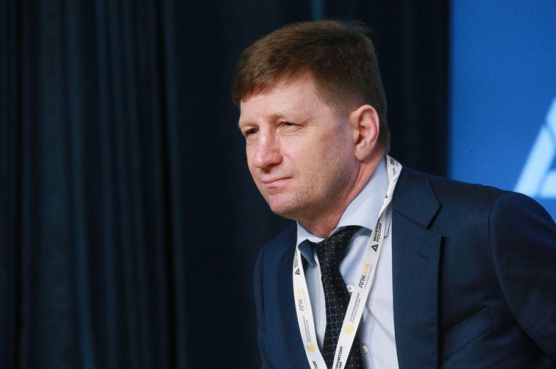 Губернатор Хабаровского края Сергей Фургал на II отраслевом форуме ЛПК360. 2018 год.