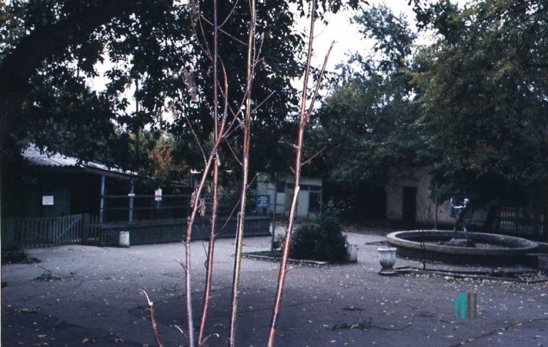 Часть территории Пермского зоопарка в 1987-м году.