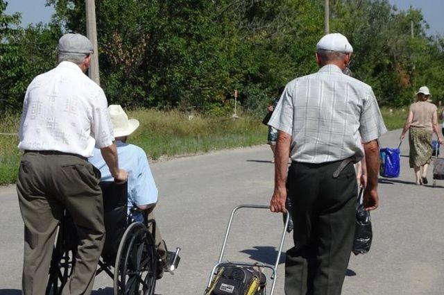 Украина упростит пересечение КПВВ для пенсионеров