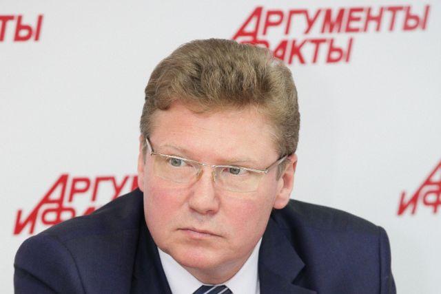 Министр культуры Челябинской области Алексей Бетехтин