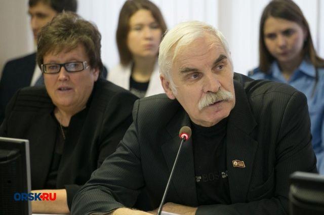 Орск.ру: депутат горсовета Павел Коровин госпитализирован с пневмонией.