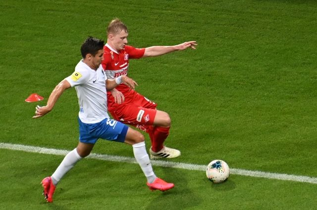 «Спартак» проиграл «Сочи» в матче чемпионата России по футболу