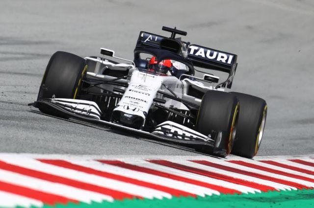 Квят вновь отказался преклонять колено перед стартом гонки «Формулы-1»