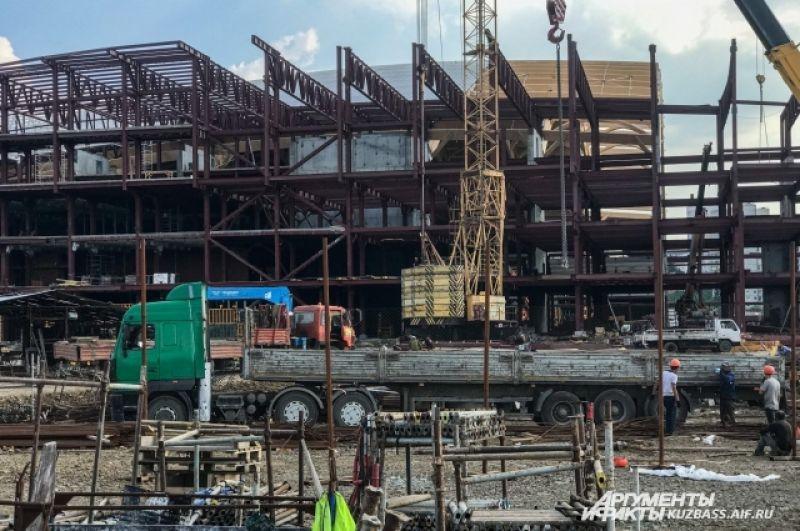 Планируется, что в здании будет волейбольная арена 18х9 метров, 50-метровый бассейн на 8 дорожек, спортивные и тренажерные залы, восстановительный центр, блок для скалолазания, ресторан и гостиница.