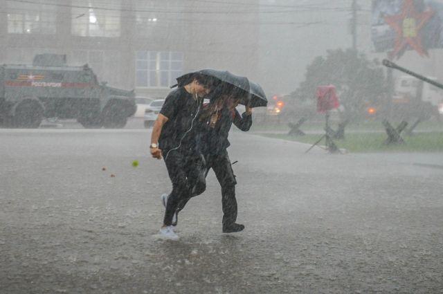 МЧС: рабочая неделя в Оренбуржье начнется с жары и грозы.
