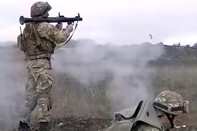 Военный конфликт между Арменией и Азербайджаном.