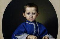 74 года считалось, что хранящийся в собрании русской живописи петербургского музея  портрет мальчика, принадлежит кисти неизвестного художника.