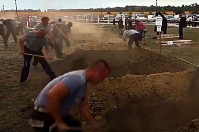 Турнир «Grave Digging» в Венгрии.