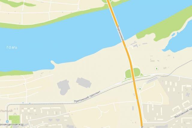 Площадь будет располагаться на пересечении проспекта Московского и улицы Терешковой.