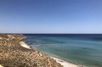 Дикий пляж вблизи Окуневки