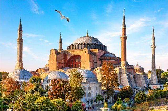 Cобор Святой Софии в Стамбуле.