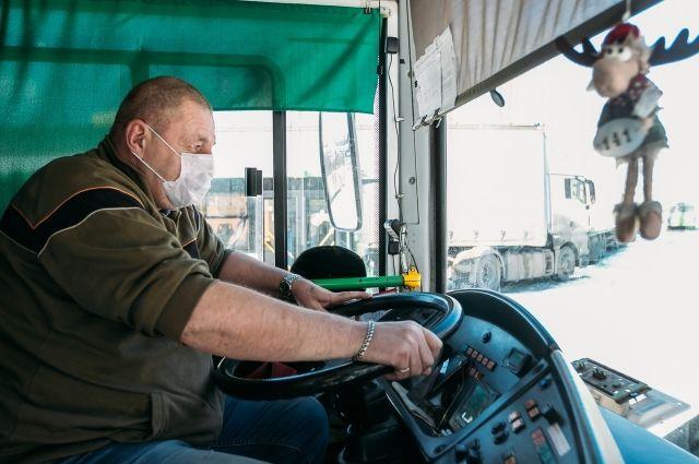 Тюменцы стали реже нарушать масочный режим в автобусах
