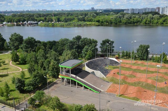 В Печатниках открылся ВМХ-велодром спортшколы олимпийского резерва «Нагорная».