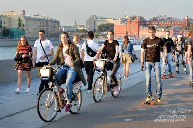 Вкатегории «городское планирование» оценивается даже число пунктов велопроката.