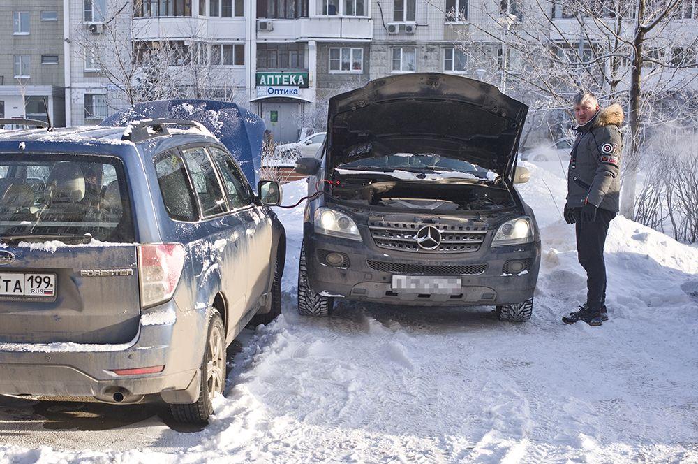 В начале 2017 года в Москву и Подмосковье пришли аномально сильные морозы. В ночь на Рождество в столице температура воздуха упала до минус 30°C, что стало самой низкой температурой за последние 125 лет.