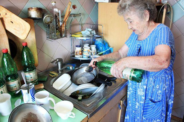 Без воды жители посёлка мучились целый месяц.